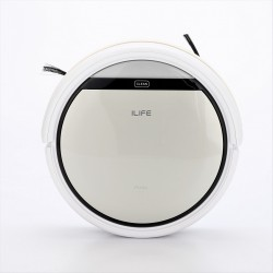 Intelligent Robotic Vacuum Cleaner (Silver)