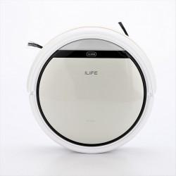 Intelligent Robotic Vacuum Cleaner (Silver)