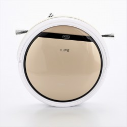 Intelligent Robotic Vacuum Cleaner with Water Tank (Gold)