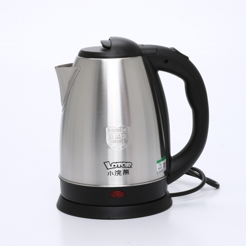Stainless Electric Kettle ~ Stainless steel quick heating electric kettle mamansa