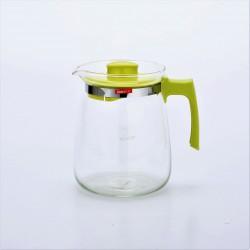 Large Capacity Heat Resistant Glass Tea Pot 2.0L