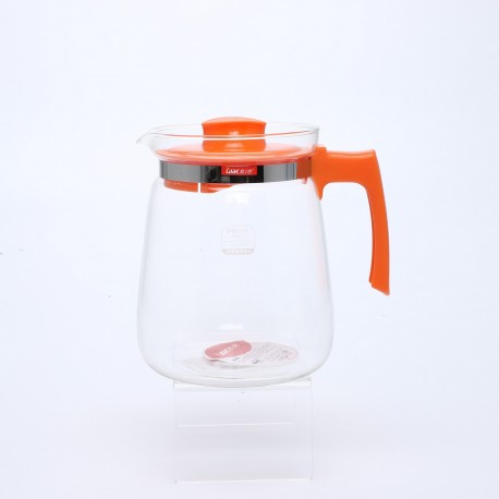 Large Capacity Heat Resistant Glass Tea Pot 2.0L