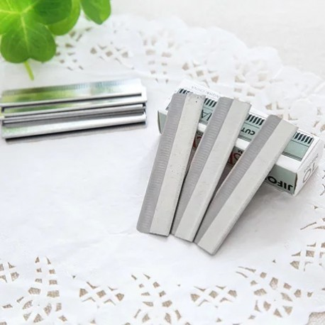 10PCS Pack Cosmetic Eyebrow Slicer Blade
