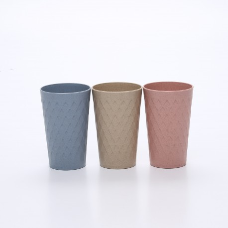 Crossover Pattern Drinking Cup