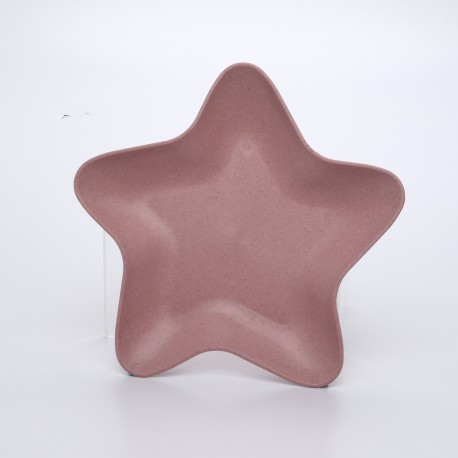 Star-shaped Plate For Fruits