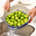 Double Function Kitchen Drain Basket Wash Vegetables