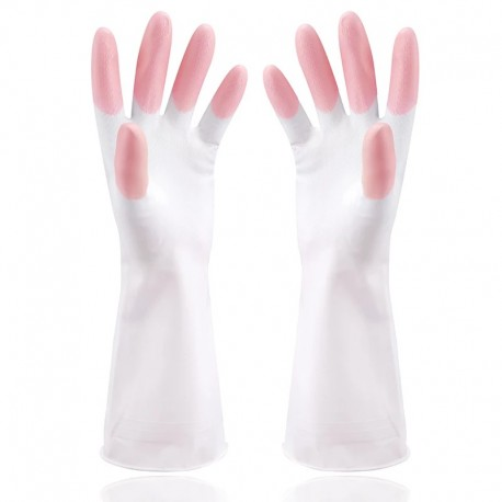 Rubber Latex Dish Washing Glove