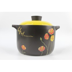 Korea Design Premium Quality Ceramic Pot Stewpot 4L