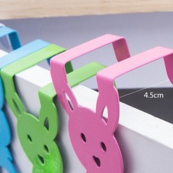 4PCS Pack Creative Rabbit Back Hook