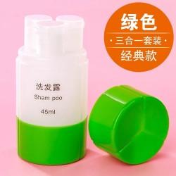 Portable Travel Shampoo Bottle Set
