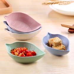 Leaf-shaped Small Size Plate for Snacks