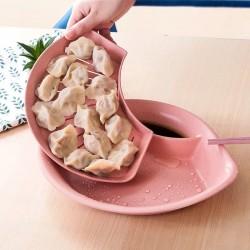 Fan-shaped Dumplings Plate