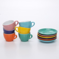 Coffee Ceramic Professional Garland Cup